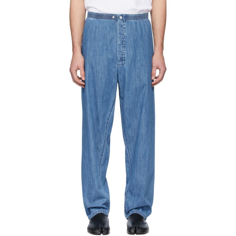 メゾン マルジェラ Maison Margiela メンズ ジーンズ・デニム ボトムス・パンツ【Blue Denim Pyjama Jeans】Medium indigo