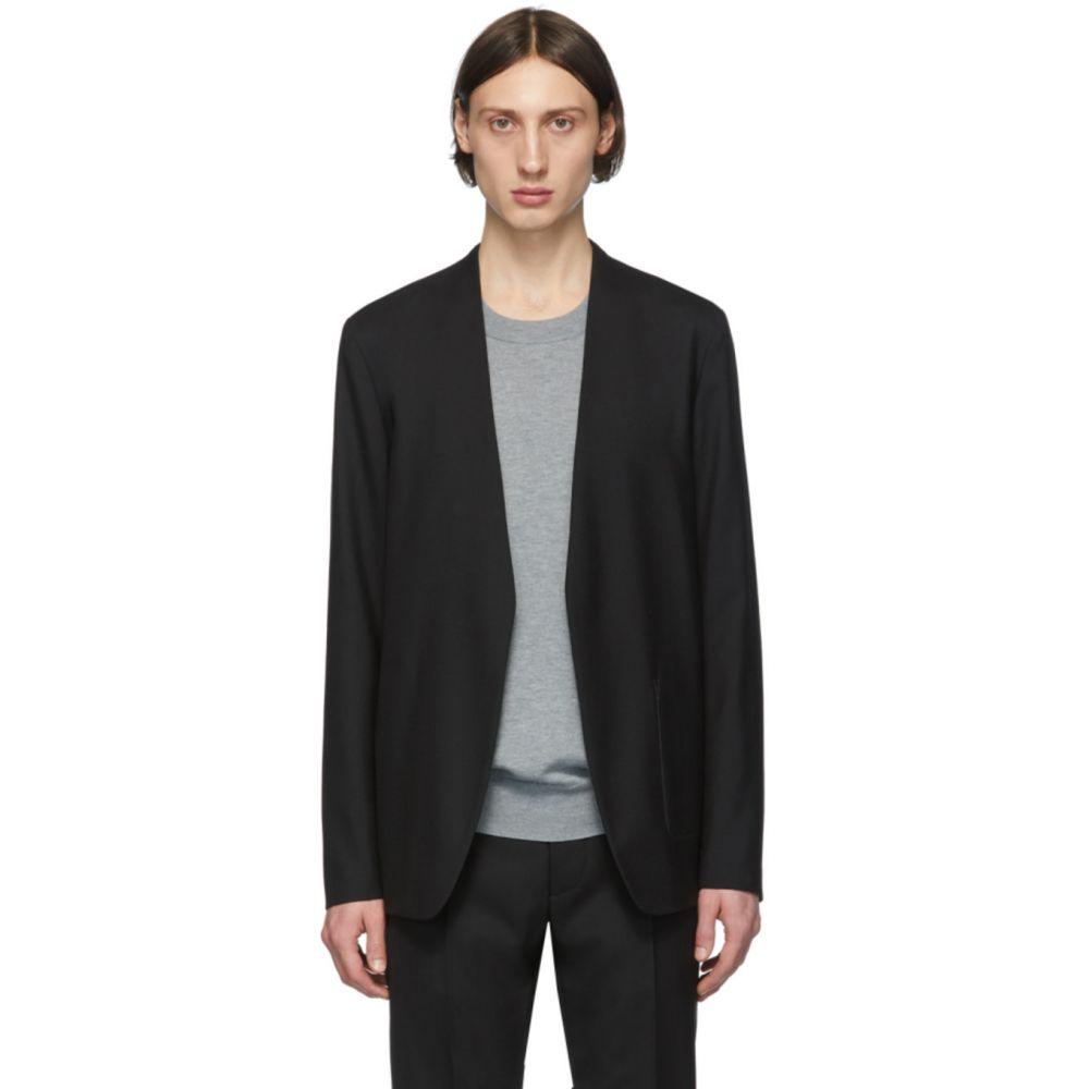 メゾン マルジェラ Maison Margiela メンズ スーツ・ジャケット アウター【Black Wool Collarless Blazer】Black