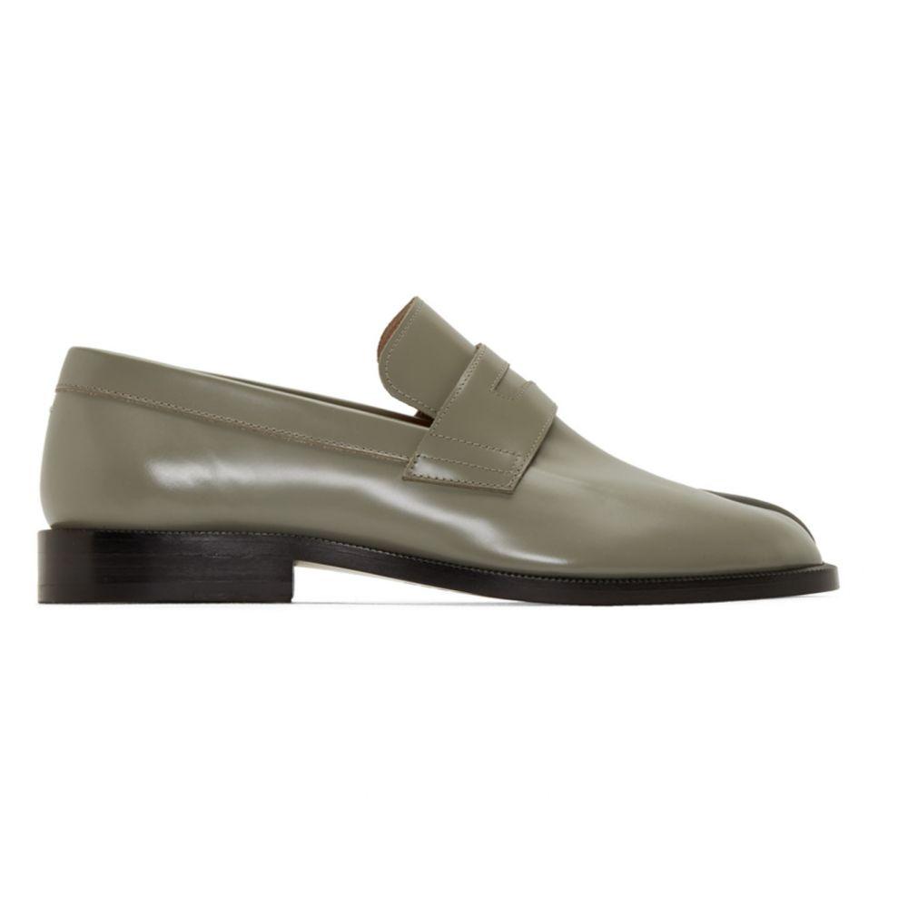メゾン マルジェラ Maison Margiela メンズ ローファー シューズ・靴【Green Tabi Advocate Loafers】Laurel oak