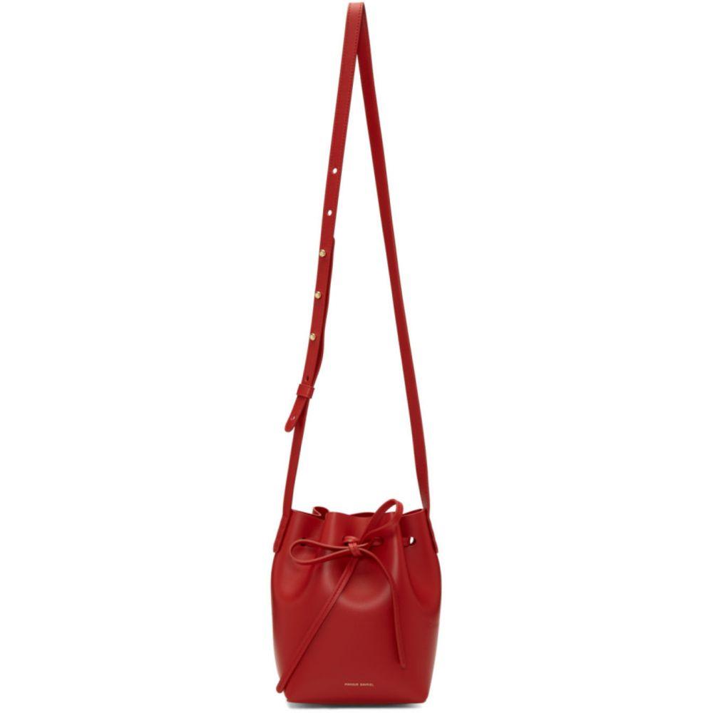 マンサーガブリエル Mansur Gavriel レディース ショルダーバッグ バケットバッグ バッグ【Red Mini Mini Bucket Bag】Flamma/Flamma