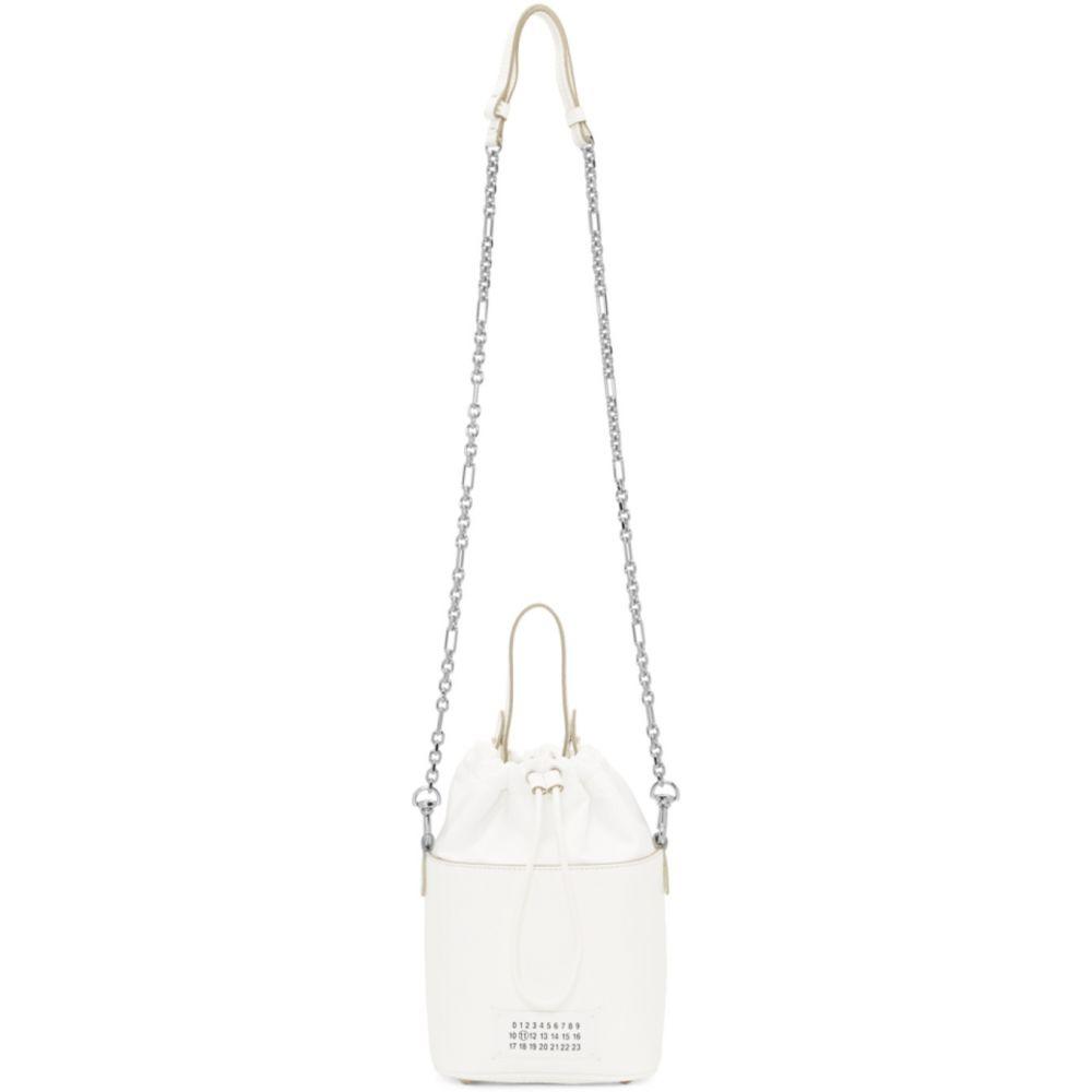 メゾン マルジェラ Maison Margiela レディース ショルダーバッグ バケットバッグ バッグ【White 5AC Bucket Bag】White