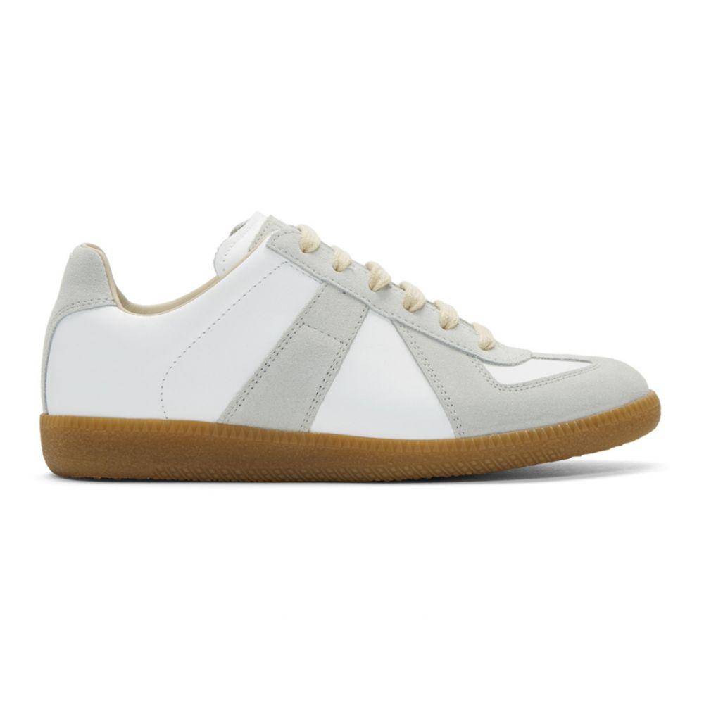 メゾン マルジェラ Maison Margiela レディース スニーカー シューズ・靴【White Replica Sneakers】White