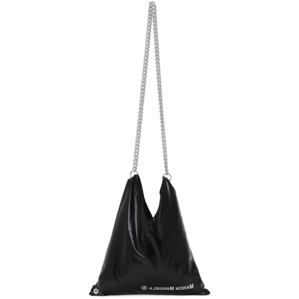 メゾン マルジェラ MM6 Maison Margiela レディース ショルダーバッグ バッグ【Black Shiny Japanese Shoulder Bag】Black