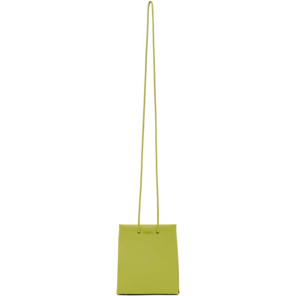 メデア Medea レディース ショルダーバッグ バッグ【Green Prima Long Strap Short Bag】Anise