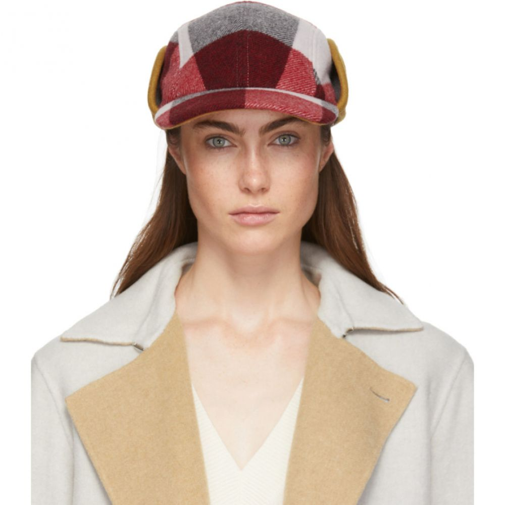 ラグ&ボーン rag & bone レディース キャップ 帽子【Red & White Plaid Pilot Cap】Red multi