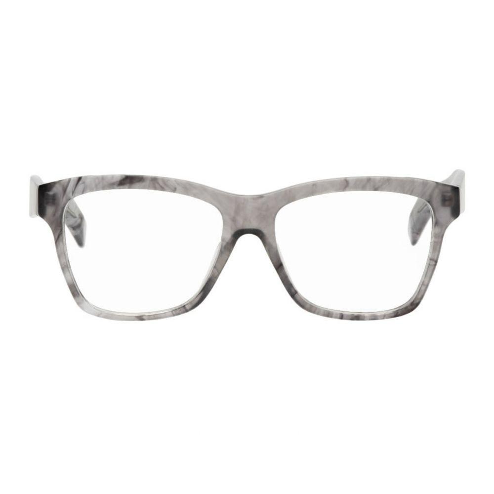 ヨウジヤマモト Yohji Yamamoto メンズ メガネ・サングラス 【Grey YY1031 Glasses】Smoke