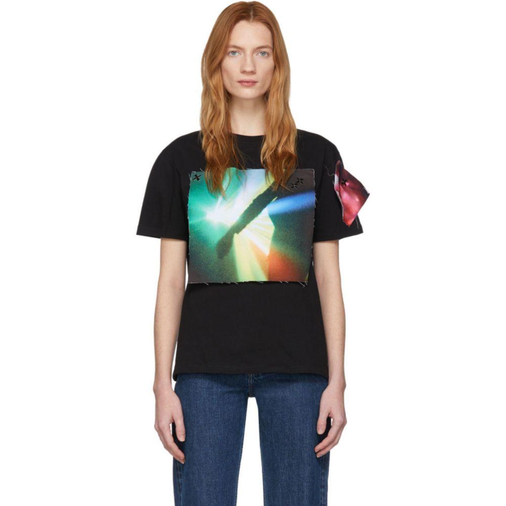 ラフ シモンズ Raf Simons レディース Tシャツ トップス【Black The xx Edition Patch T-Shirt】Black