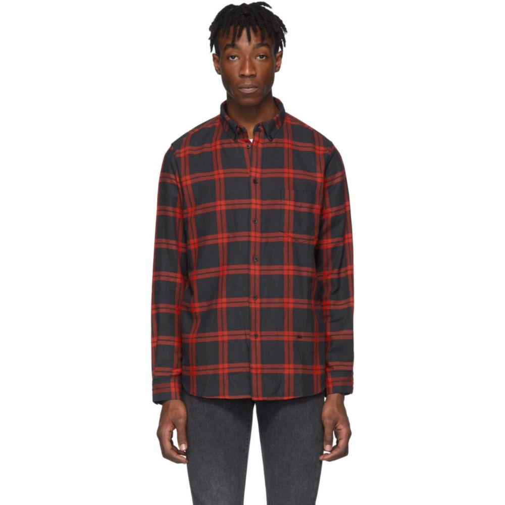 リーバイス Levi's Made & Crafted メンズ シャツ トップス【Black & Red Herringbone Standard Shirt】Tackle multi