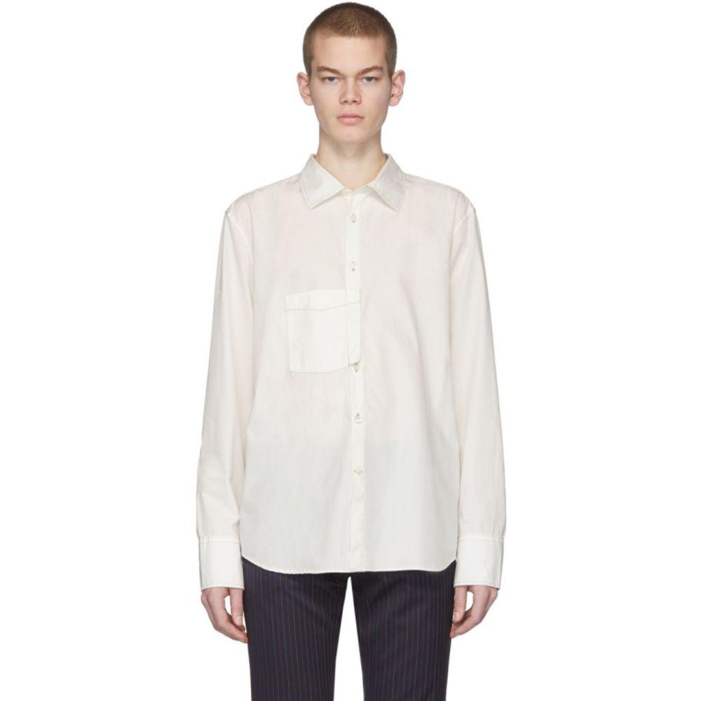 ル オムルージュ L'Homme Rouge メンズ シャツ トップス【Off-White Gender Shirt】Off-white