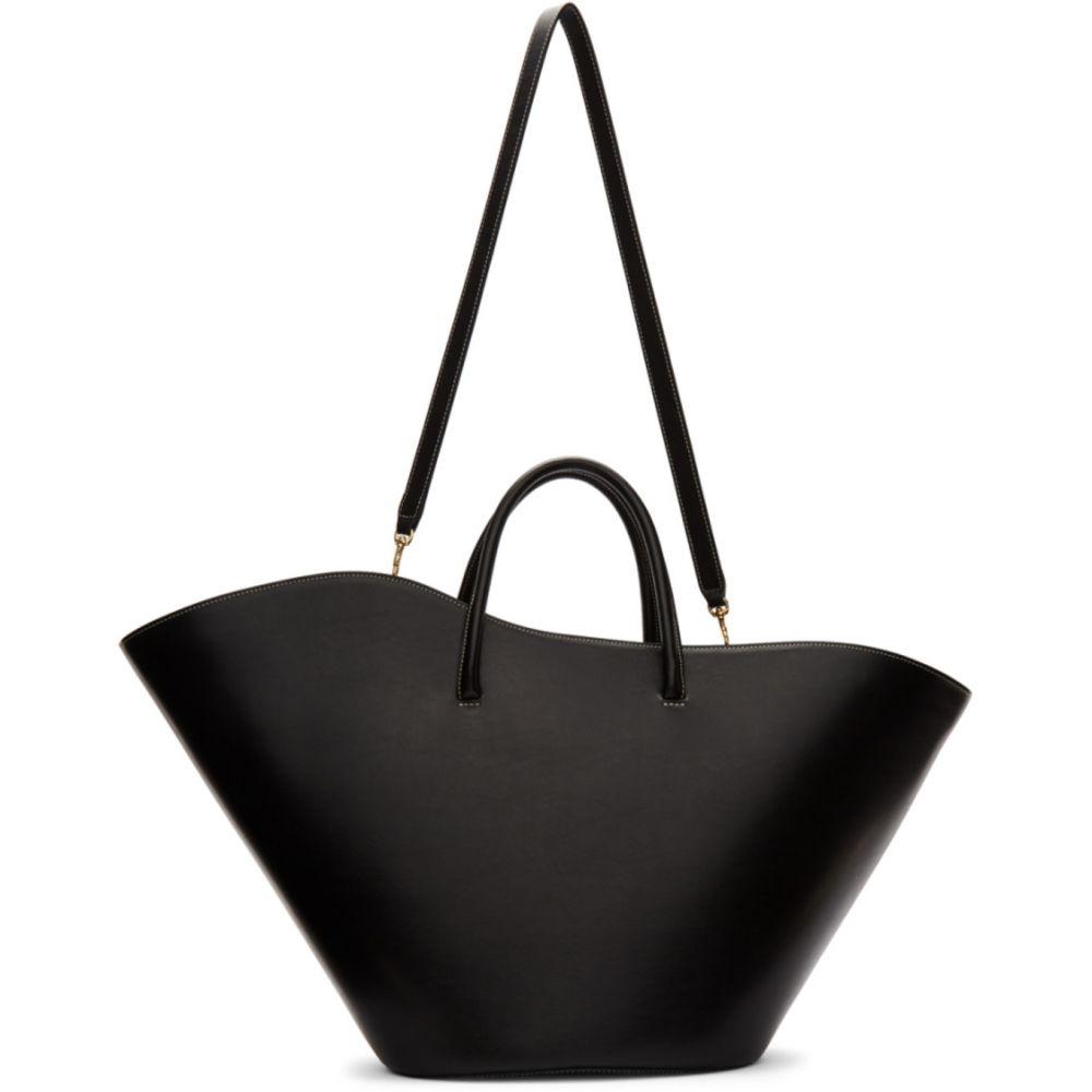 リトル リフナー Little Liffner レディース トートバッグ バッグ【Black Large Two-Way Tulip Tote】Black