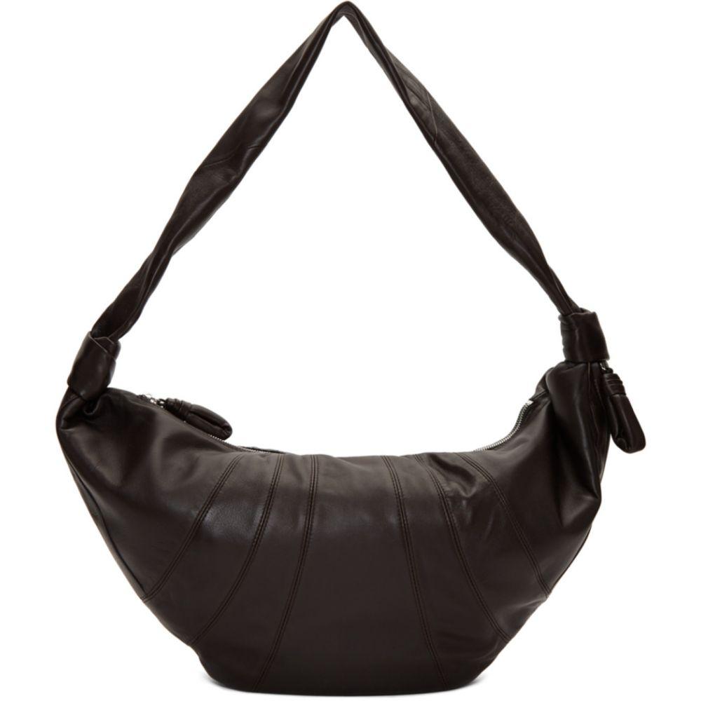 ルメール Lemaire レディース ショルダーバッグ バッグ【Brown Large Croissant Bag】Dark chocolate