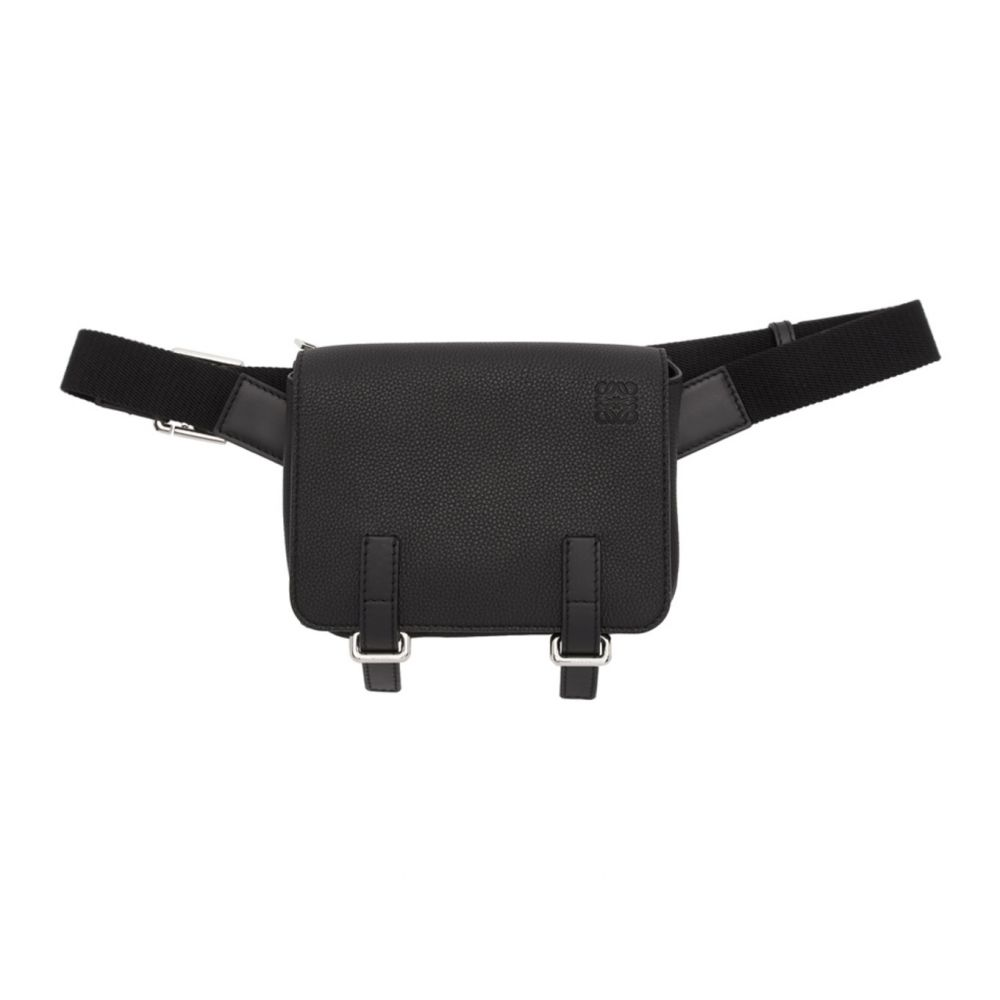 ロエベ Loewe メンズ ボディバッグ・ウエストポーチ バッグ【Black Military Bum Bag】Black