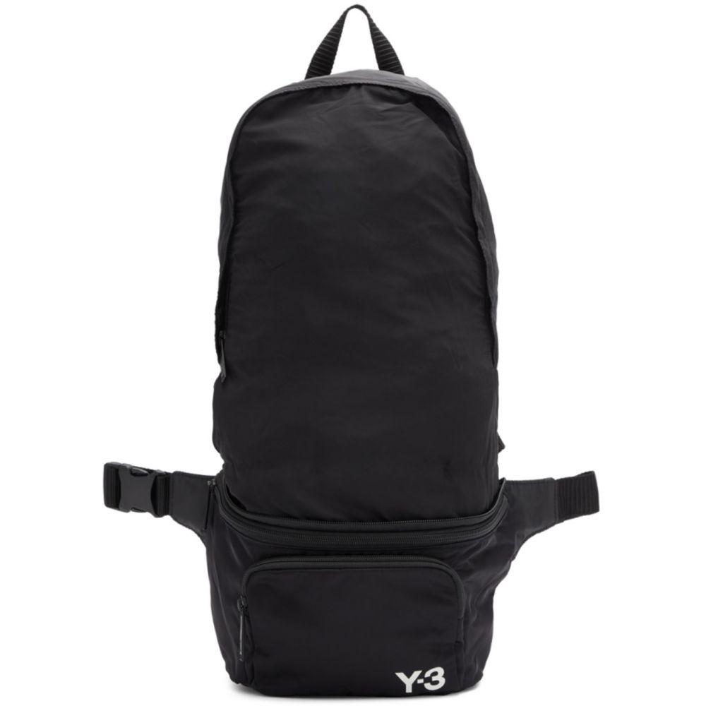 ワイスリー Y-3 メンズ バックパック・リュック バッグ【Black Packable Backpack】Black