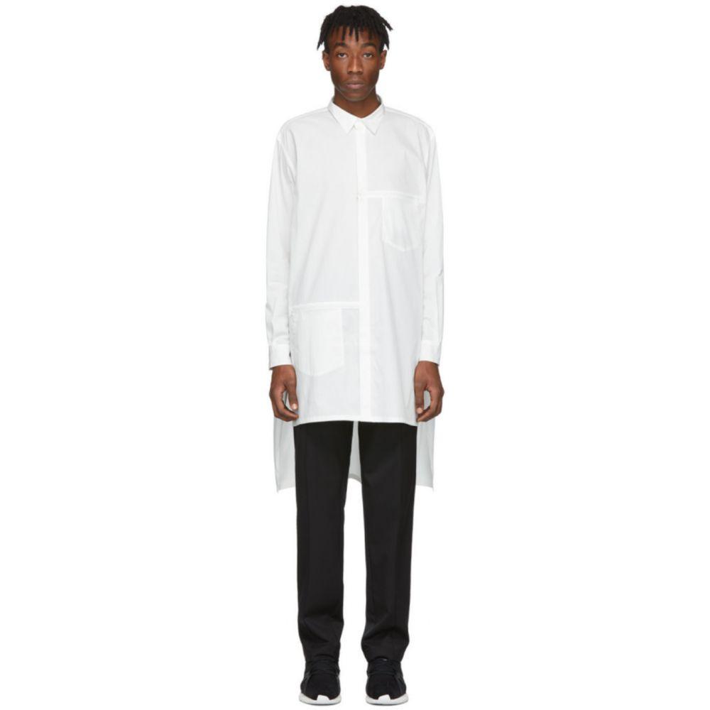 ワイスリー Y-3 メンズ シャツ トップス【White Poplin Logo Shirt】Core white
