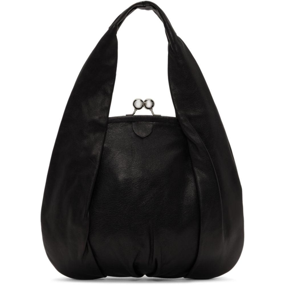 ワイズ Y's レディース ショルダーバッグ バッグ【Black Clasp Hand Bag】Black