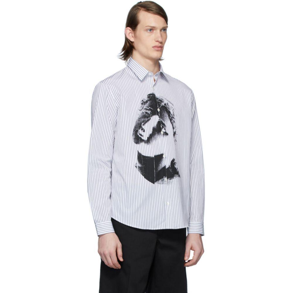 Alexander McQueen Men/'s White Casual Shirt Size US XS S M