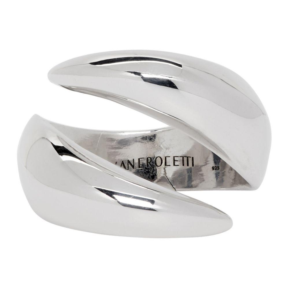 アラン クロセッティ Alan Crocetti メンズ 指輪・リング ジュエリー・アクセサリー【Silver Raptor Ring】Silver