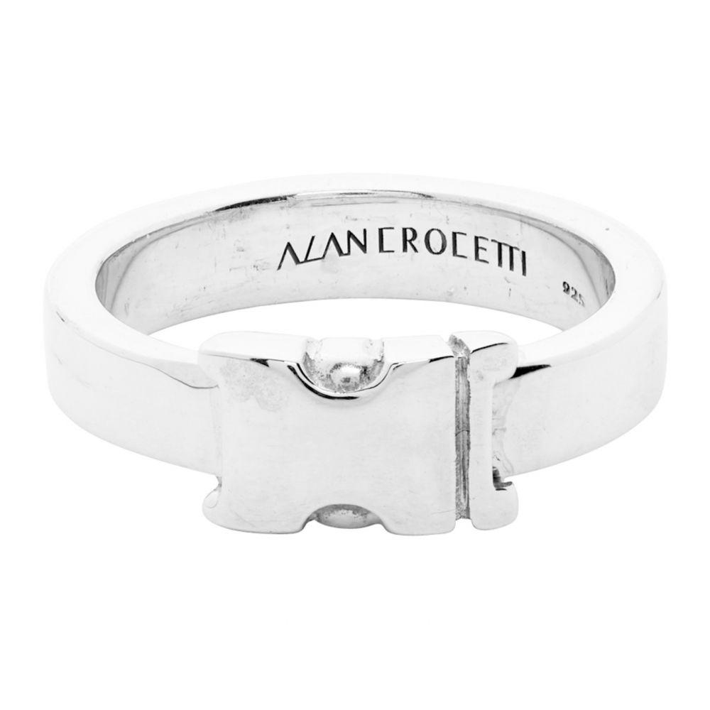 アラン クロセッティ Alan Crocetti メンズ 指輪・リング ジュエリー・アクセサリー【Silver Unity Ring】Silver