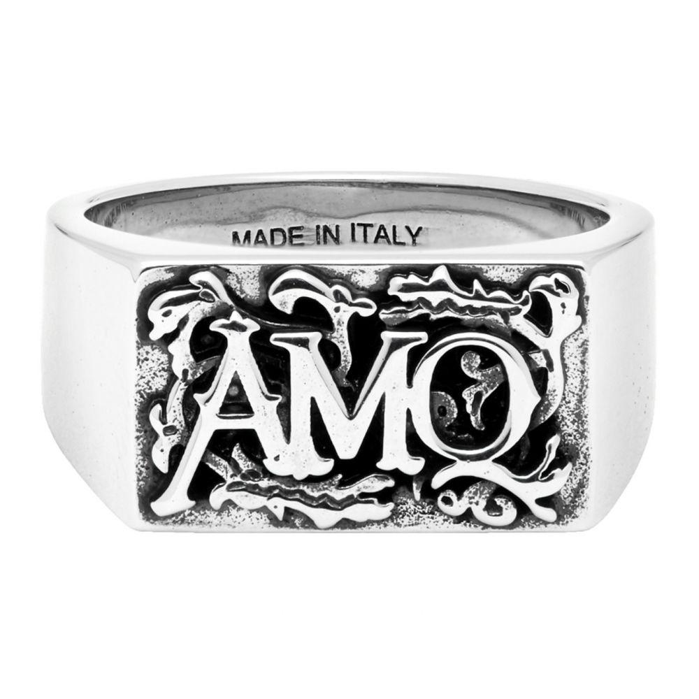 アレキサンダー マックイーン Alexander McQueen メンズ 指輪・リング ジュエリー・アクセサリー【Silver Snake Ring】Ottone