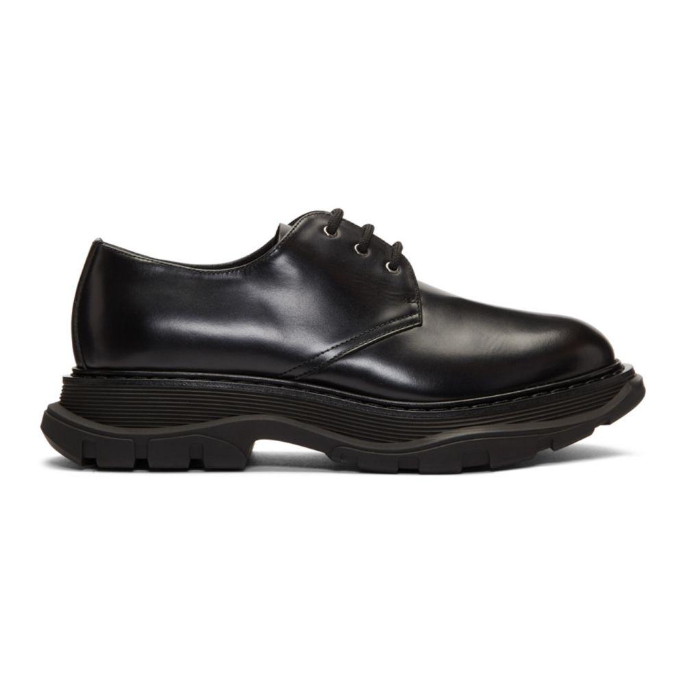アレキサンダー マックイーン Alexander McQueen メンズ 革靴・ビジネスシューズ シューズ・靴【Black Beauty Derbys】Black