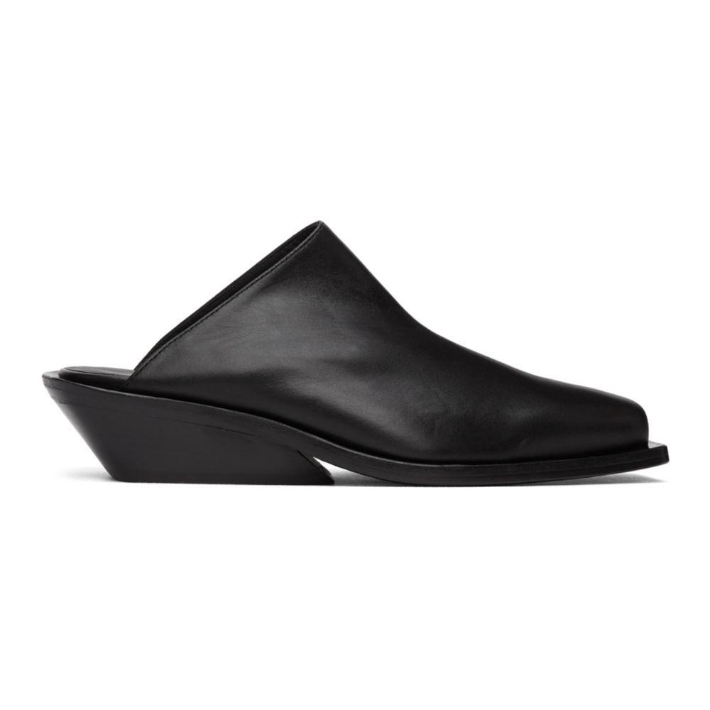 アンドゥムルメステール Ann Demeulemeester メンズ ローファー シューズ・靴【Black Crust Loafers】Nero