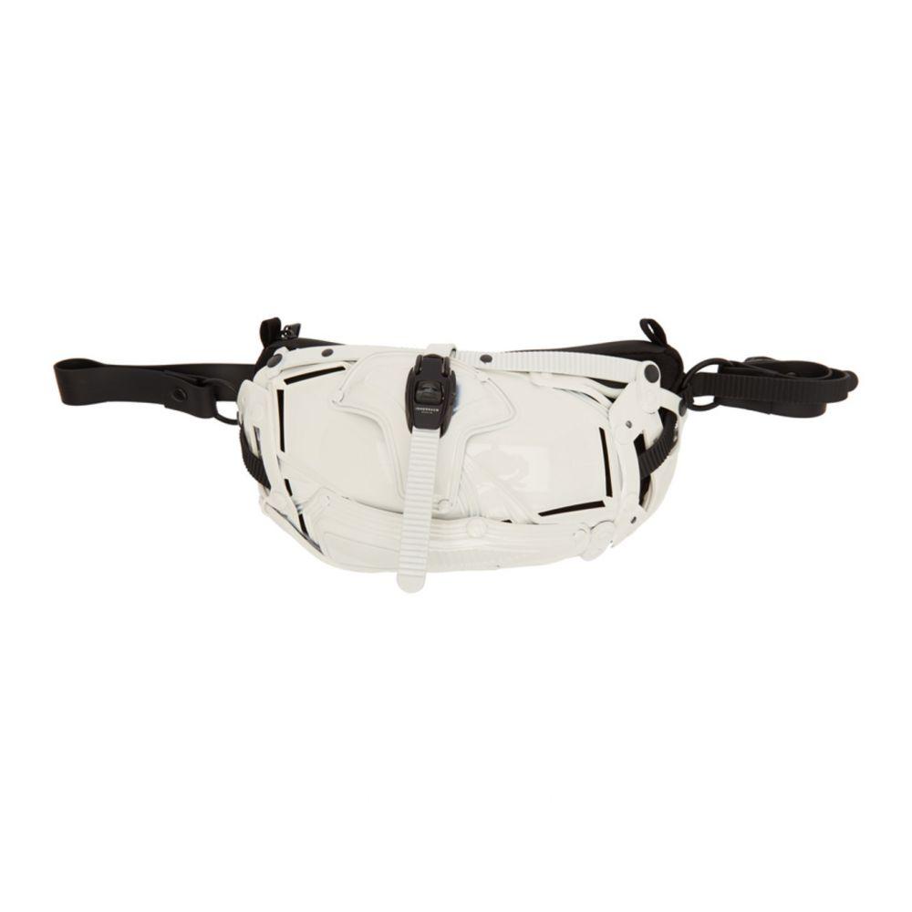 インナラーム Innerraum メンズ ショルダーバッグ バッグ【White & Black I30 Cross Body Bag】White/Black