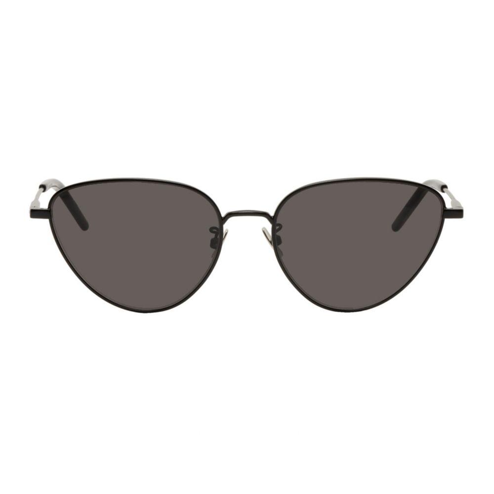 イヴ サンローラン Saint Laurent レディース メガネ・サングラス 【Black SL 310 Sunglasses】Black