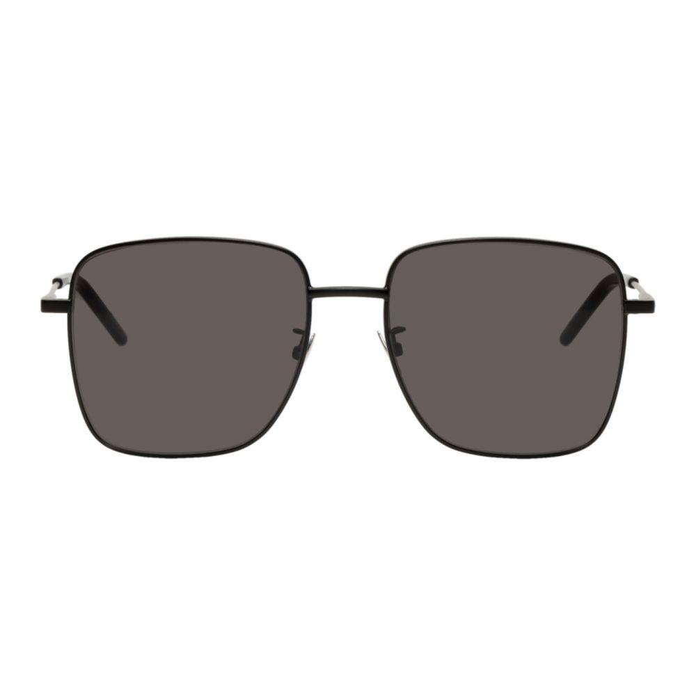 イヴ サンローラン Saint Laurent レディース メガネ・サングラス 【Black SL 312 Sunglasses】Black