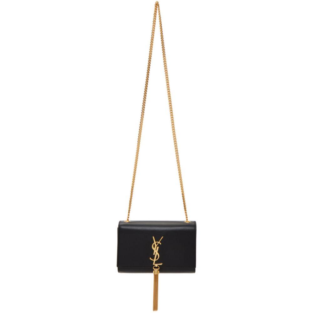 イヴ サンローラン Saint Laurent レディース ショルダーバッグ バッグ【Black Small Kate Tassel Bag】Black