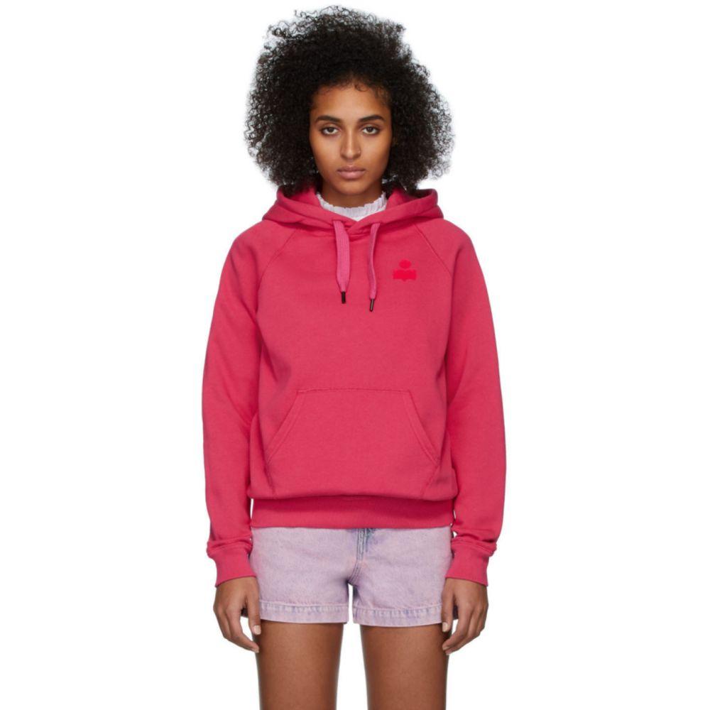 イザベル マラン Isabel Marant Etoile レディース パーカー トップス【Pink Malibu Hoodie】Neon pink
