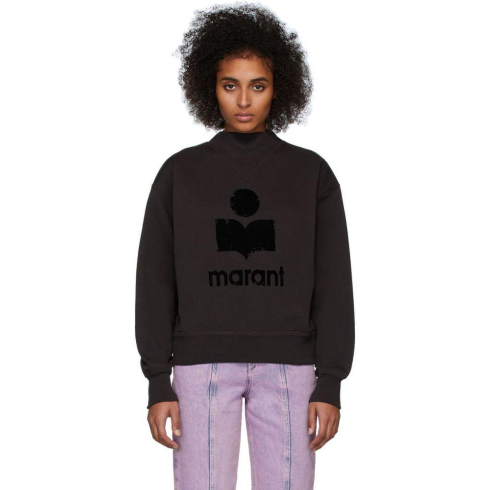 イザベル マラン Isabel Marant Etoile レディース スウェット・トレーナー トップス【Black Moby Inactif Sweatshirt】Black
