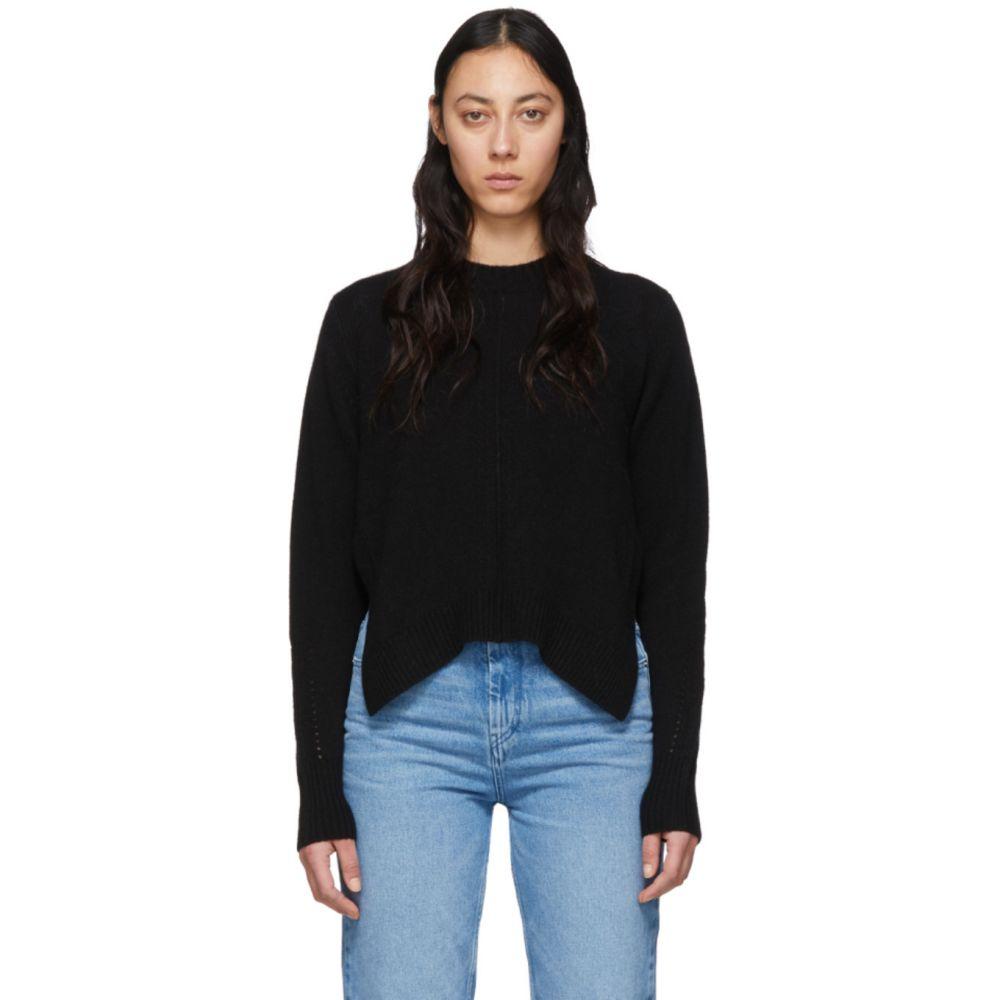 イザベル マラン Isabel Marant レディース ニット・セーター トップス【Black Cashmere Chinn Crewneck Sweater】Black