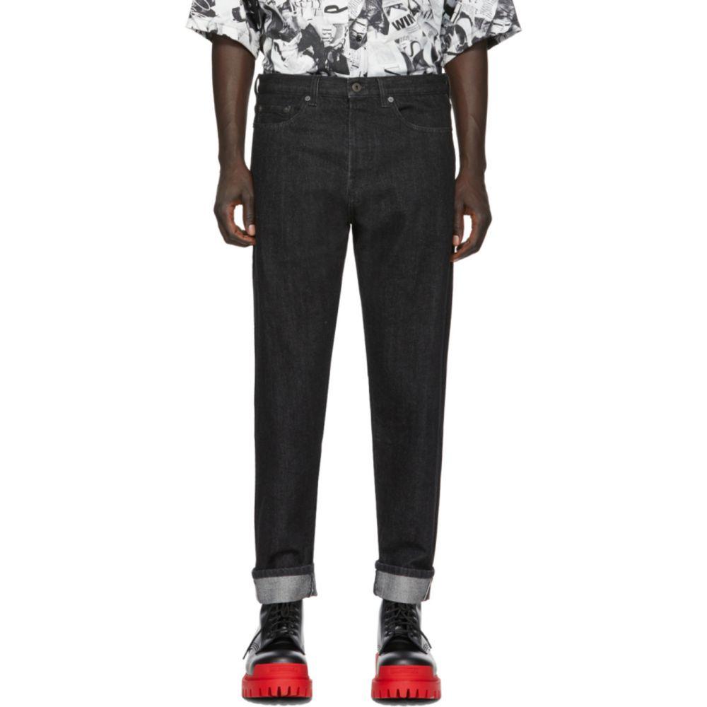 ヴァレンティノ Valentino メンズ ジーンズ・デニム ボトムス・パンツ【Black 'VLTN' Jeans】Black