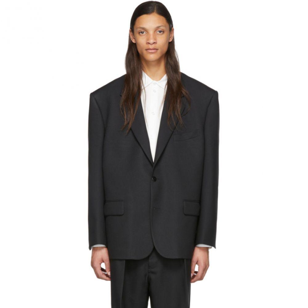 ランダム アイデンティティーズ Random Identities メンズ スーツ・ジャケット アウター【Black 80's Blazer】Black
