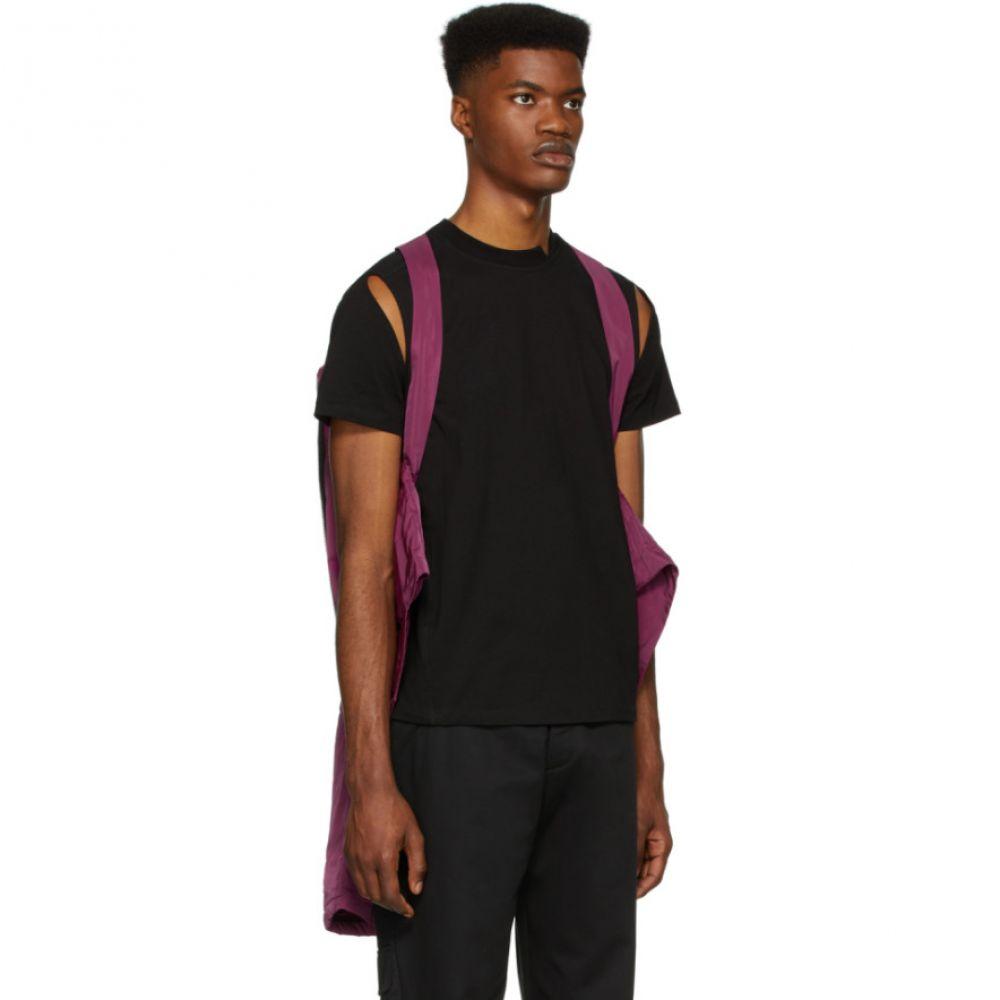スペンサー バドゥ Spencer Badu メンズ ジャケット モーターサイクルジャケット アウター Purple MotoPukiXZ