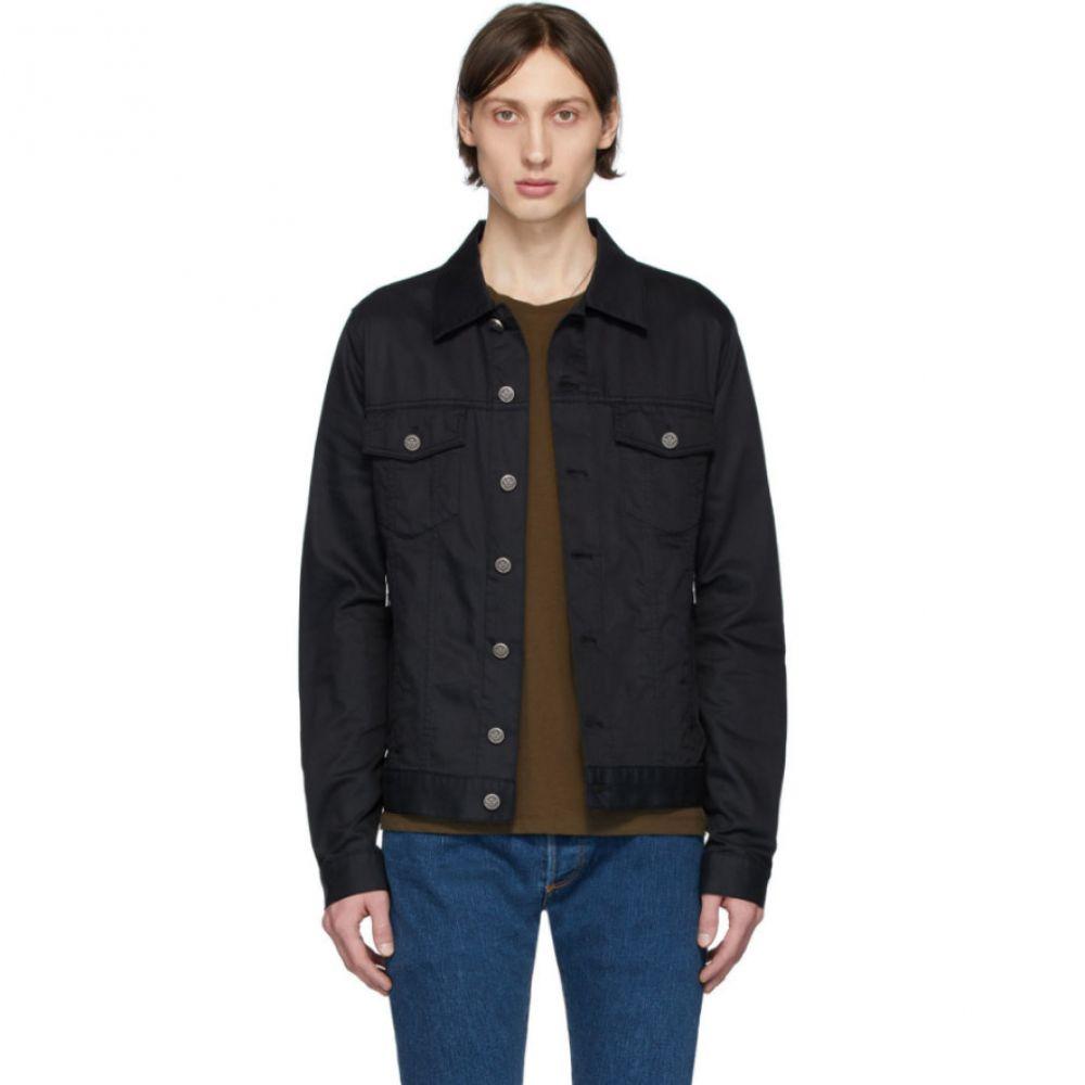 バルマン Balmain メンズ ジャケット アウター【Black Logo Stamp Jacket】Black