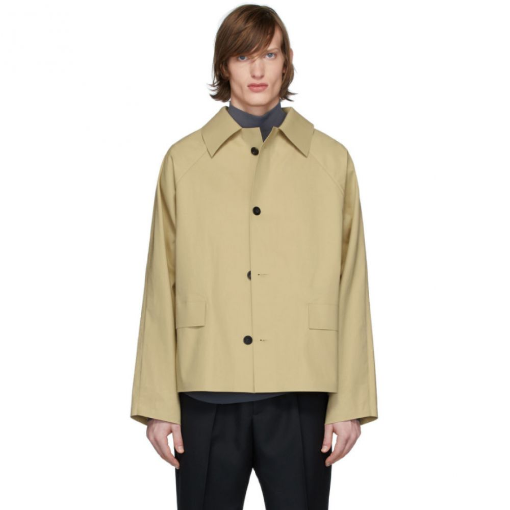 カッスル エディションズ Kassl Editions メンズ ジャケット アウター【Beige Original Trench Jacket】Beige