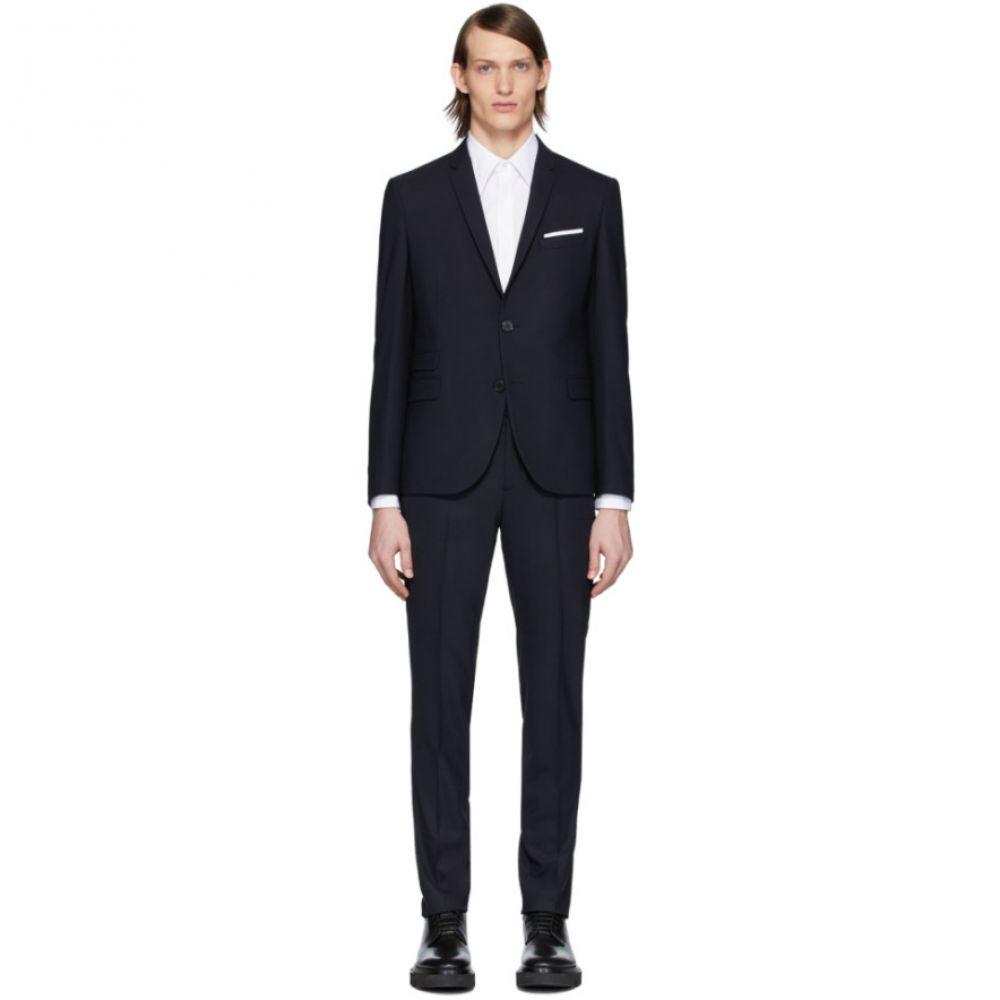 ニール バレット Neil Barrett メンズ スーツ・ジャケット アウター【Navy Fine Travel Suit】Navy