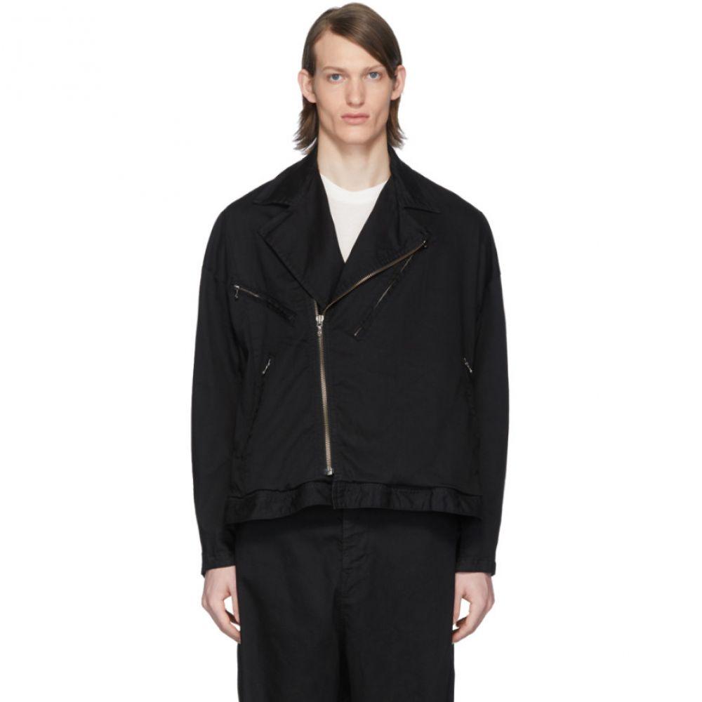ユリウス Julius メンズ ジャケット Gジャン モーターサイクルジャケット アウター【Black Denim Motorcycle Jacket】Black