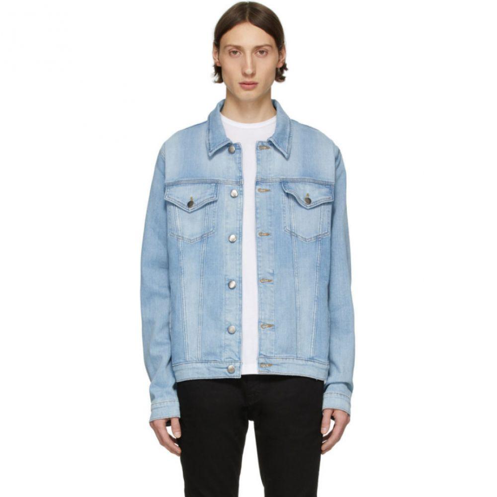 フレーム Frame メンズ ジャケット Gジャン アウター【Blue Denim L'Homme Jacket】Colton