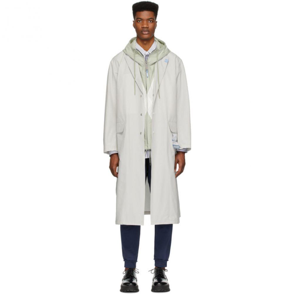 ミハラ ヤスヒロ Miharayasuhiro メンズ コート チェスターフィールドコート アウター【Grey Chesterfield Coat】Grey