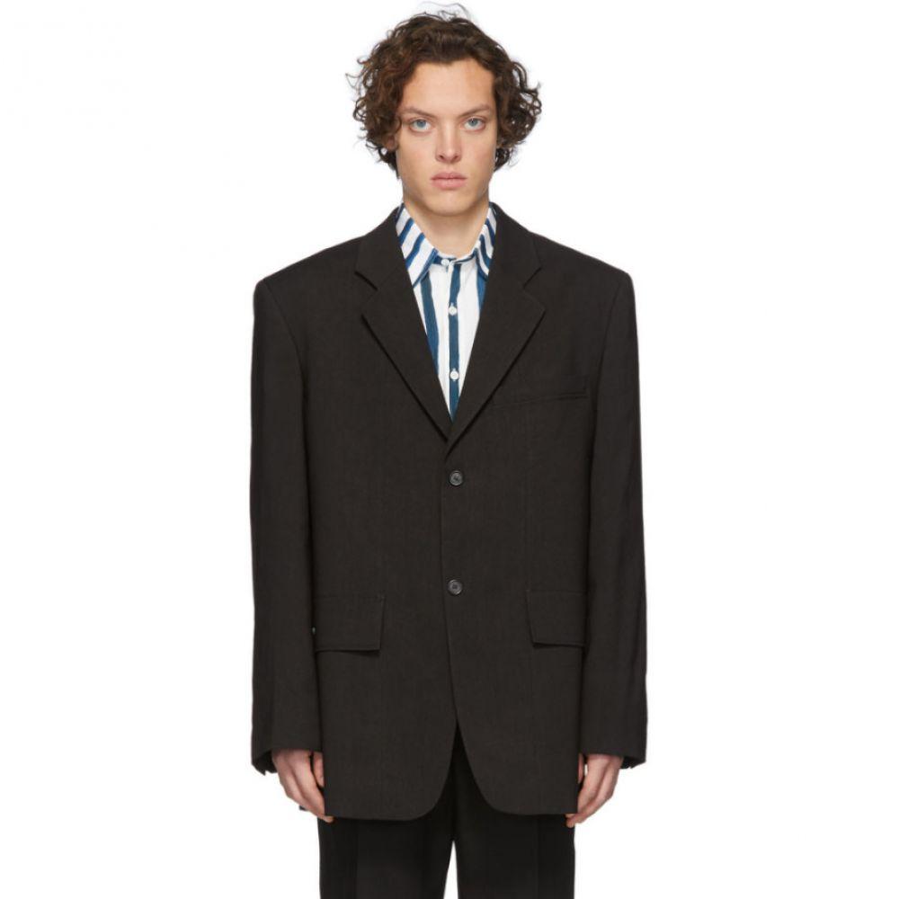 ジャックムス Jacquemus メンズ スーツ・ジャケット アウター【Black 'La Veste De Costume' Blazer】Black