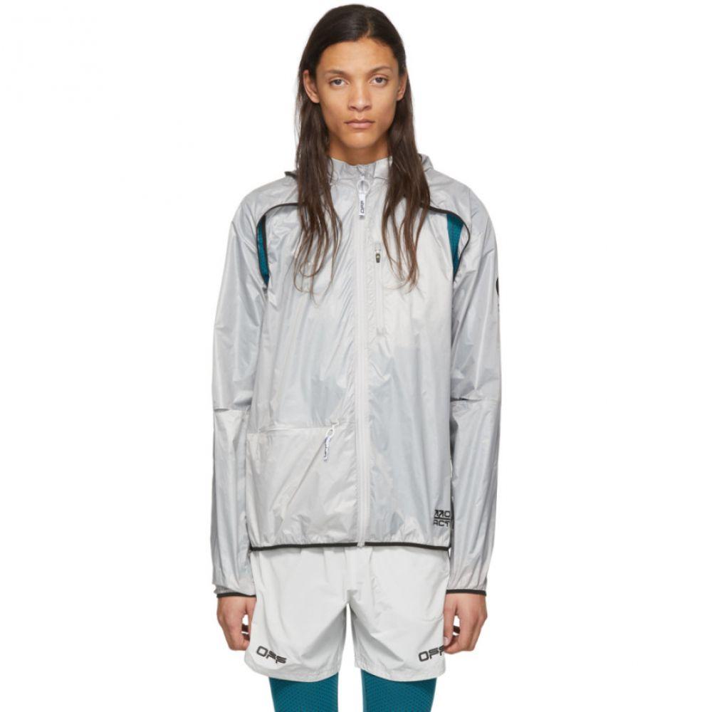 オフホワイト Off-White メンズ ジャケット アウター【Grey Multi Use Jacket】Light grey