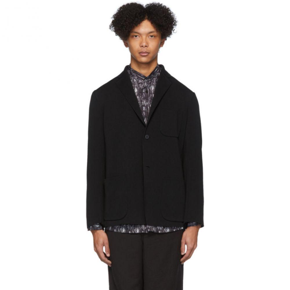 イッセイ ミヤケ Issey Miyake Men メンズ スーツ・ジャケット アウター【Black Milan Blazer】Black