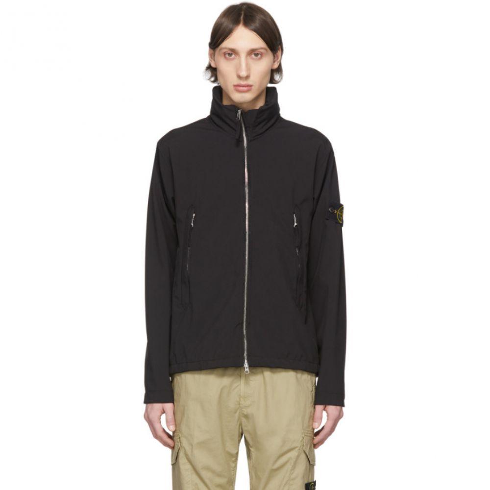 ストーンアイランド Stone Island メンズ ジャケット アウター【Black Short Jacket】Black