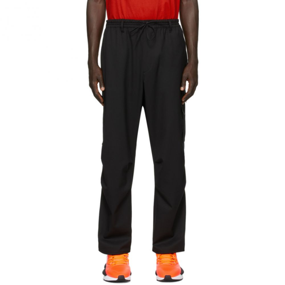 ワイスリー Y-3 メンズ カーゴパンツ ボトムス・パンツ【Black Refined Wool Cargo Pants】Black