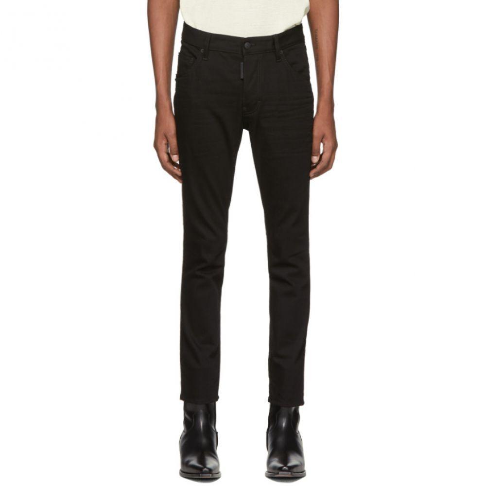 ディースクエアード Dsquared2 メンズ ジーンズ・デニム ボトムス・パンツ【Black Resin Treatment 3D Skater Jeans】Black
