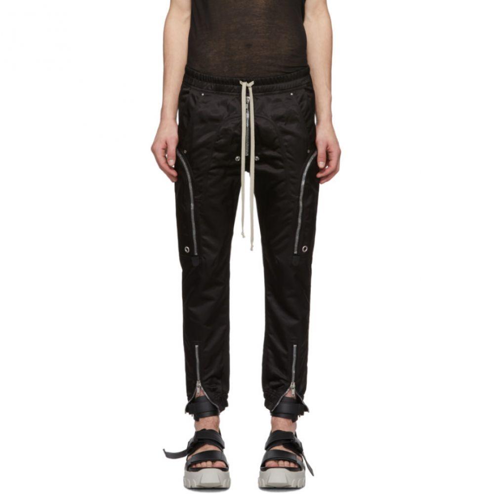 リック オウエンス Rick Owens メンズ カーゴパンツ ボトムス・パンツ【Black Bauhaus Cargo Pants】Black