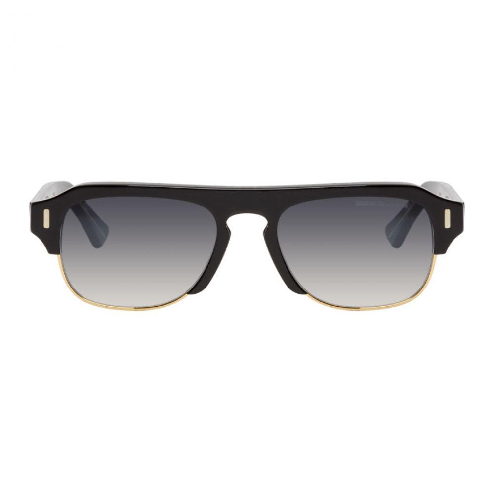 カトラー アンド グロス Cutler And Gross メンズ メガネ・サングラス 【Black 1353-01 Sunglasses】Black/Gold
