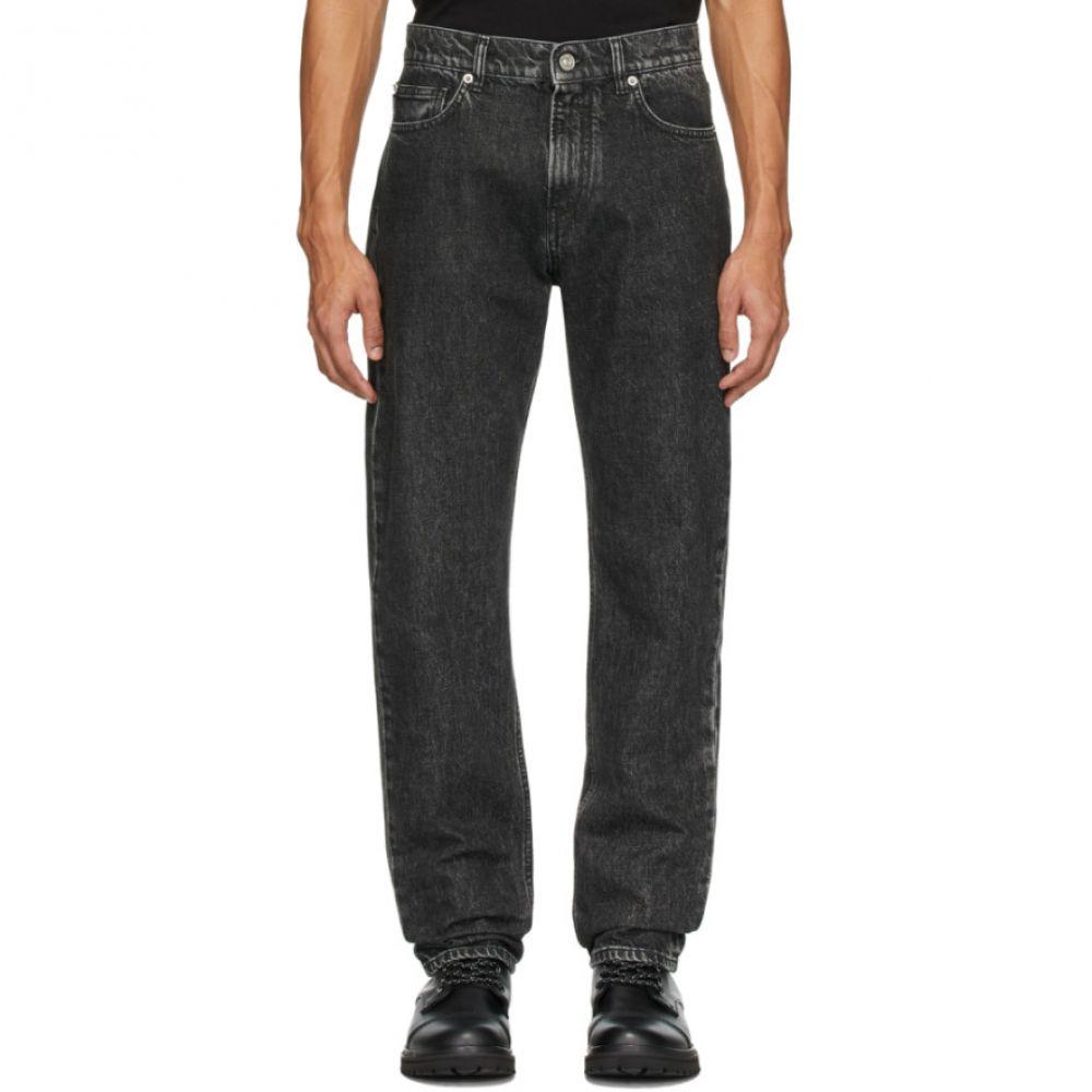 ヴェルサーチ Versace メンズ ジーンズ・デニム ボトムス・パンツ【Black Slim Jeans】Black